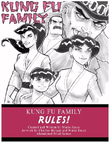 Final Kung Fu Family Rules Cover